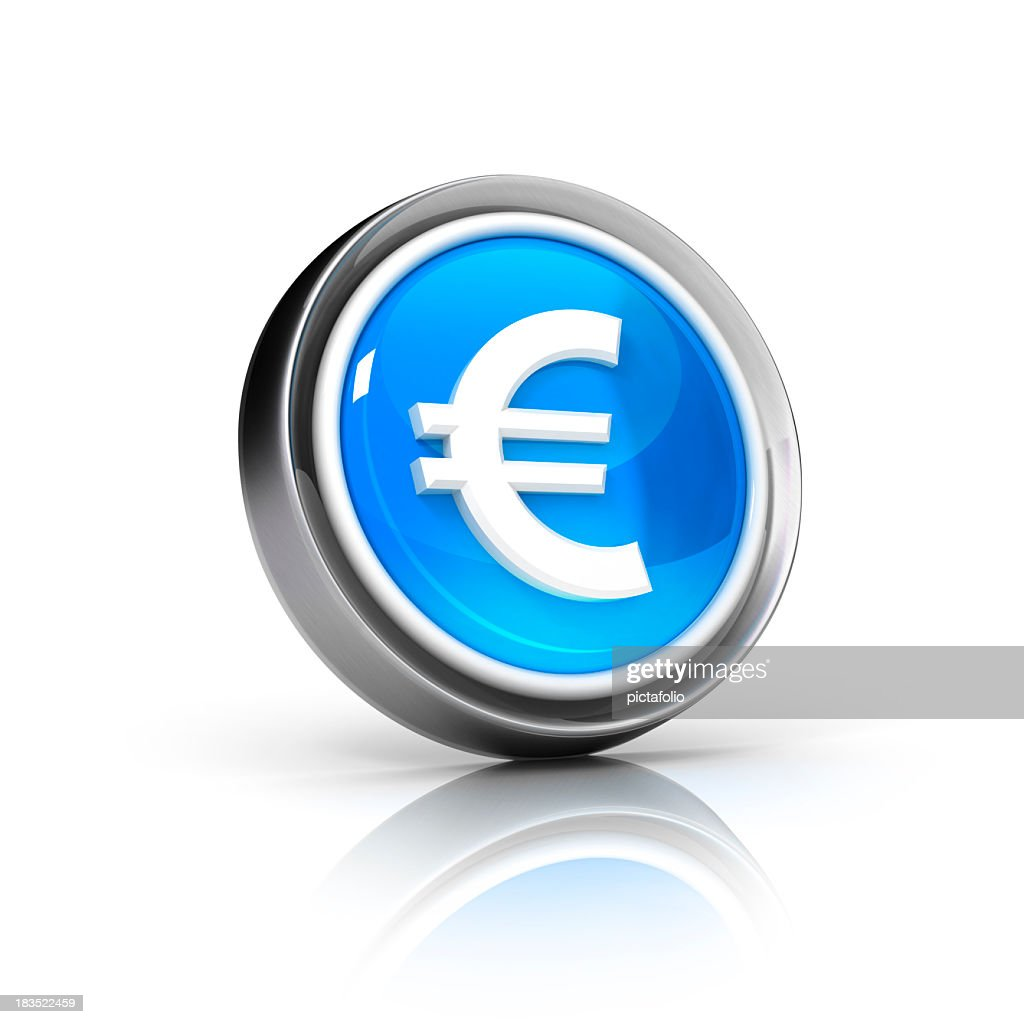 Euro currency icon with grey border and blue core stock photo euro currency icon with grey border and blue core stock photo biocorpaavc