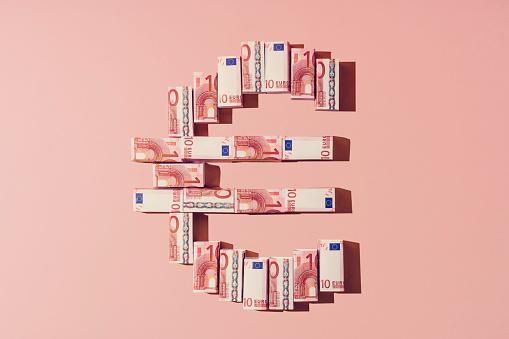 Euro currency symbol - gettyimageskorea