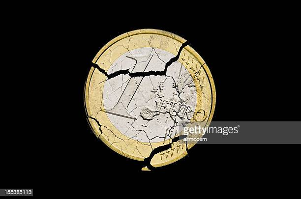 euro damaged - italian currency stock pictures, royalty-free photos & images