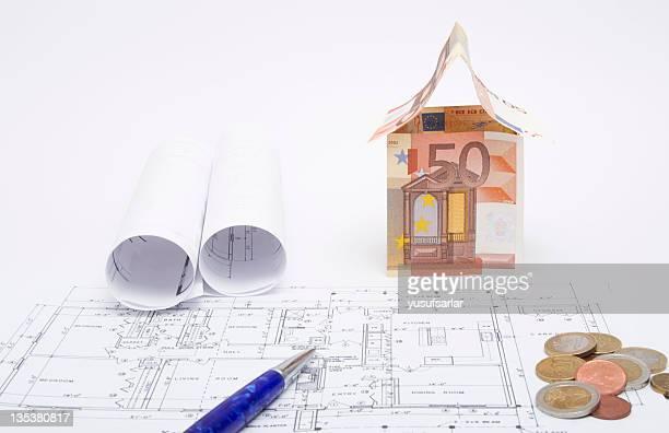 Euro House on Architecturel Plan