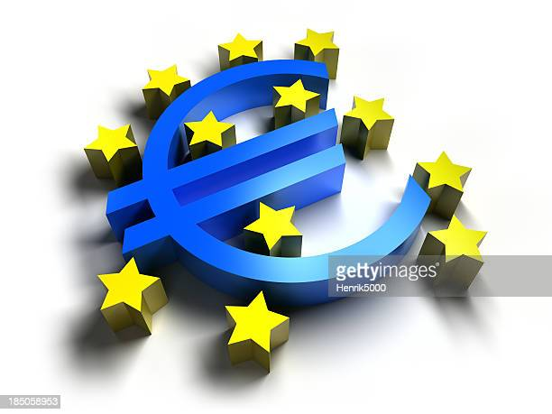 Euro logo, isolated with clipping path