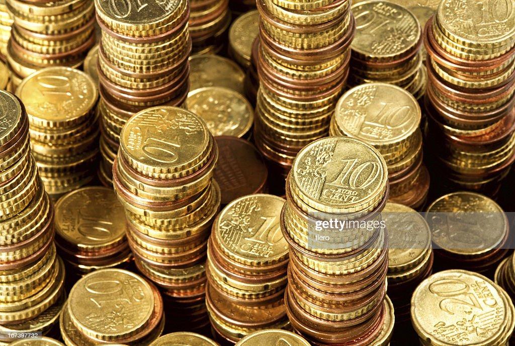 euro di denaro : Foto stock