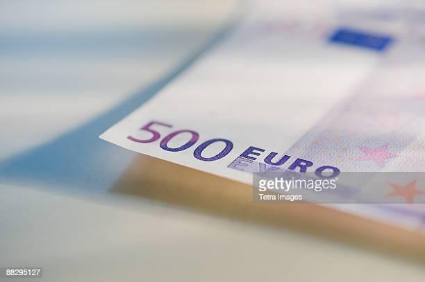 500 euro note - billete de banco de quinientos euros fotografías e imágenes de stock