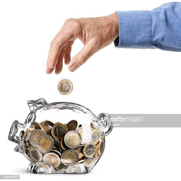 Euro erfolgreiche Savings Bank-Älterer