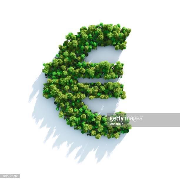 Euro: Ansicht von oben