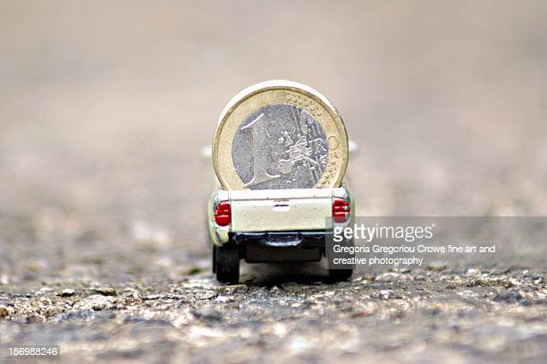 euro truck - gregoria gregoriou crowe fine art and creative photography stock-fotos und bilder