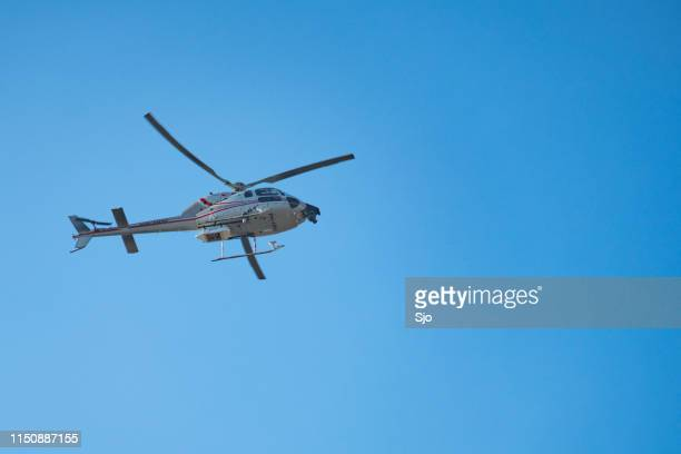Eurocopter AS 355 F2 Ecureuil 2 flying in mid air