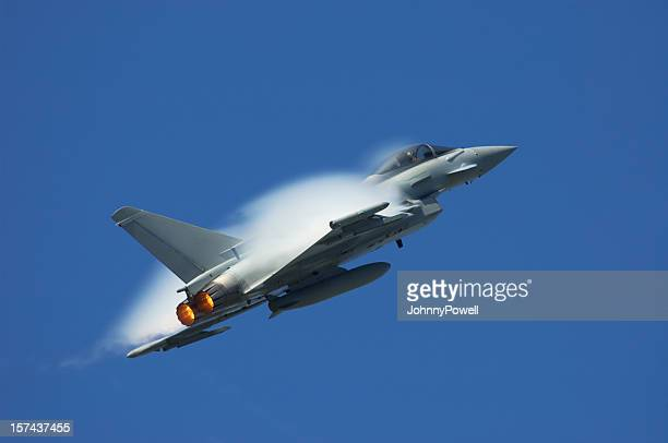 eurofighter typhoon - raf stock pictures, royalty-free photos & images