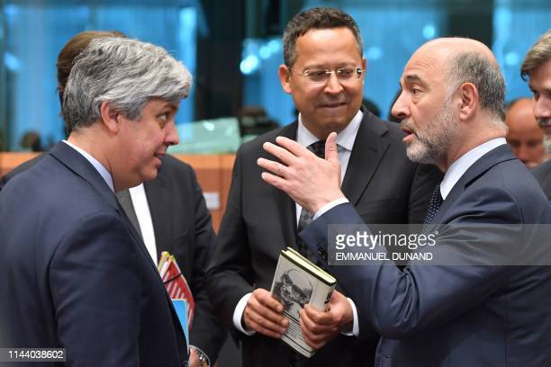 Eurogroup President and Portuguese Finance Minister Mario Centeno European Commissioner for Economic and Financial Affairs Taxation and Customs...