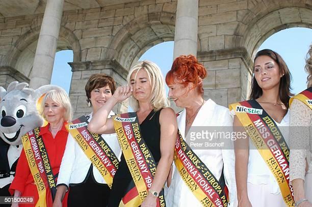 EuroMaus Margit Nünke Irene Neumann Anja HörnichClüver Ingrid FingerOsswald Mirjana Bogojevic 'Das große Miss GermanyTreffen' 'Hotel Colosseo'...