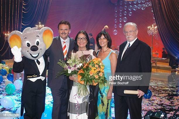 EuroMaus Roland Mack Nana Mouskouri Marianne Mack Konzertveranstalter Fritz Rau ARDShow Herzlichen Glückwunsch die M I C A E L S C H A N Z E...