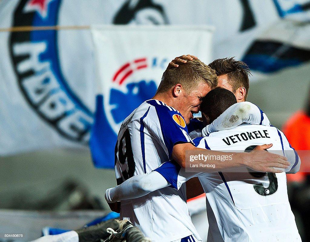 Europa League FCK vs. Molde FK - Andreas Cornelius, FCK FC ...