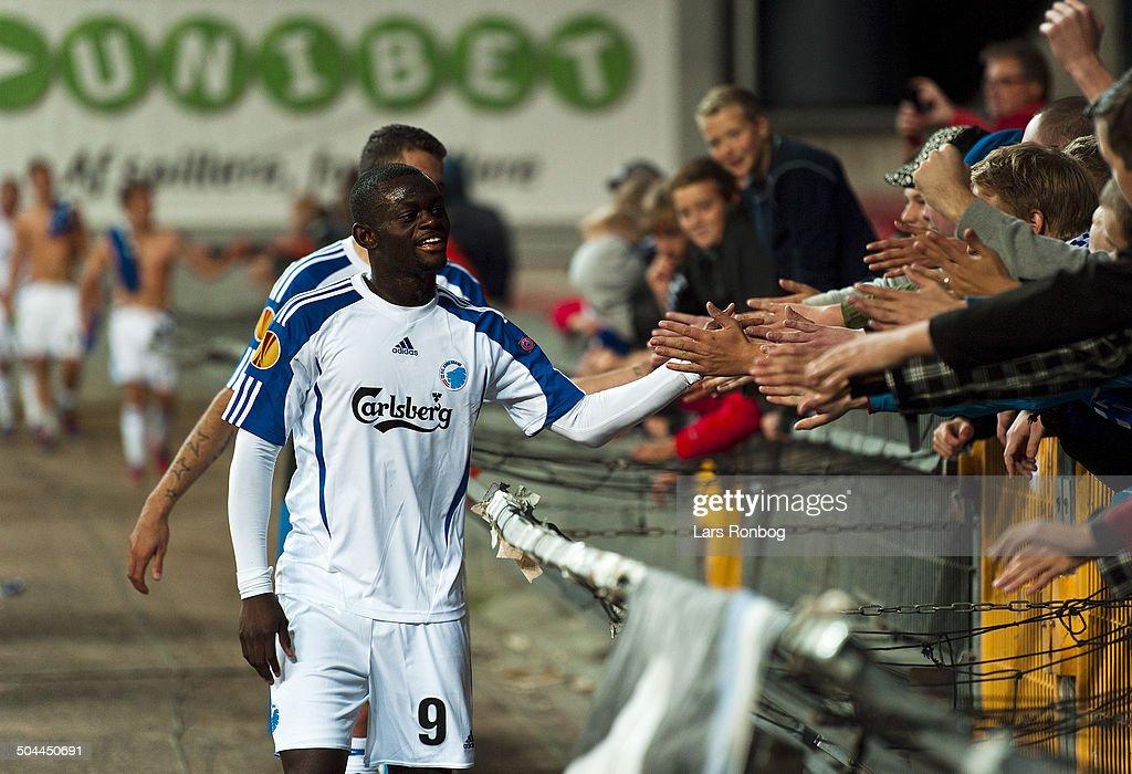 Europa League FCK vs. Molde FK - Igor Vetokele, FCK FC ...