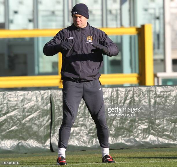 Europa League Group A Juventus v Manchester City Manchester City Training Stadio Olimpico Manchester City goalkeeper Shay Given during a training...