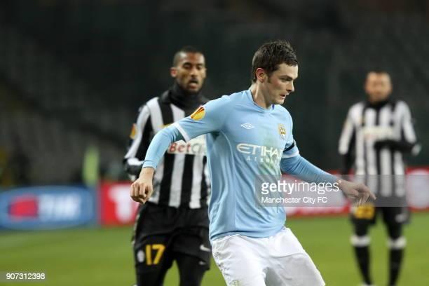 Europa League Group A Juventus v Manchester City Stadio Olimpico Adam Johnson Manchester City
