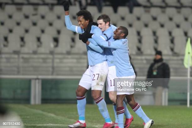 Europa League Group A Juventus v Manchester City Stadio Olimpico Jo celebrates with his teammates after scoring the equalising goal