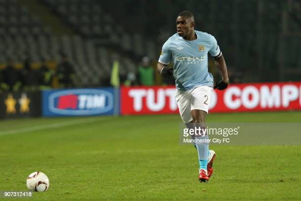 Europa League Group A Juventus v Manchester City Stadio Olimpico Micah Richards Manchester City