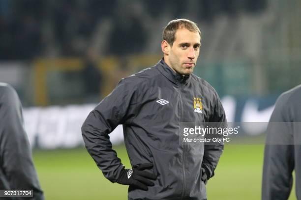 Europa League Group A Juventus v Manchester City Stadio Olimpico Manchester City's Pablo Zabaleta before kick off