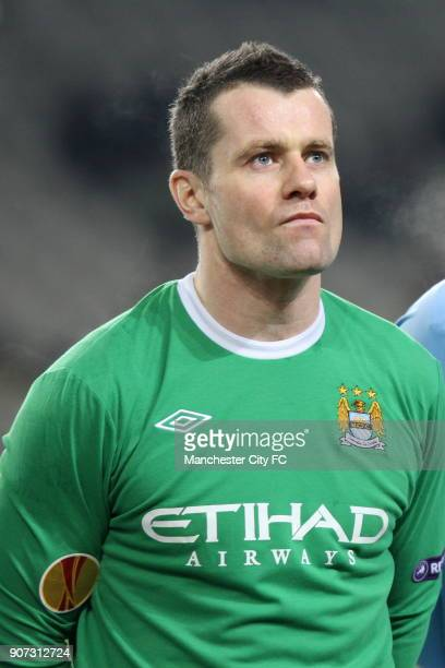 Europa League Group A Juventus v Manchester City Stadio Olimpico Manchester City goalkeeper Shay Given