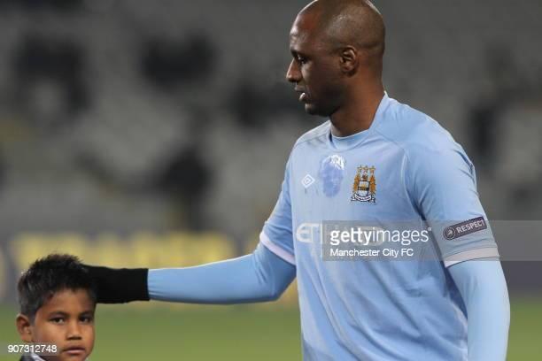 Europa League Group A Juventus v Manchester City Stadio Olimpico Manchester City's Patrick Vieira before kick off