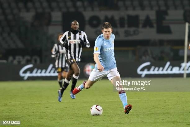 Europa League Group A Juventus v Manchester City Stadio Olimpico James Milner Manchester City