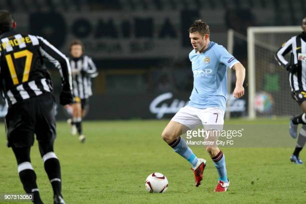 Europa League Group A Juventus v Manchester City Stadio Olimpico Manchester City's James Milner on the ball