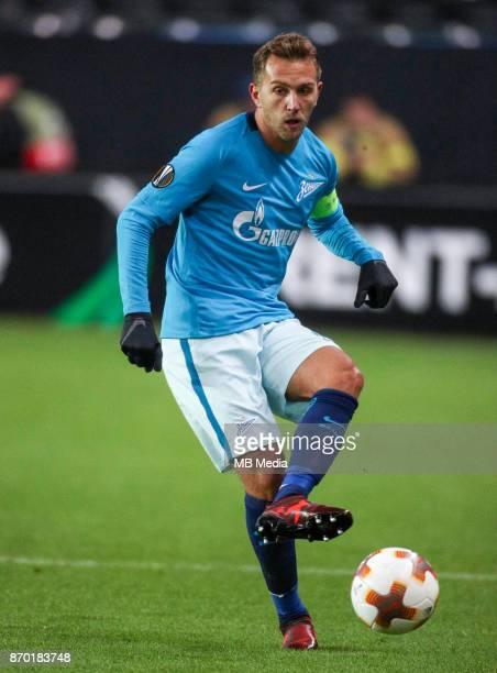 Rosenborg BK 11 Zenit St Petersburg Zenit St Petersburg's Domenico Criscito
