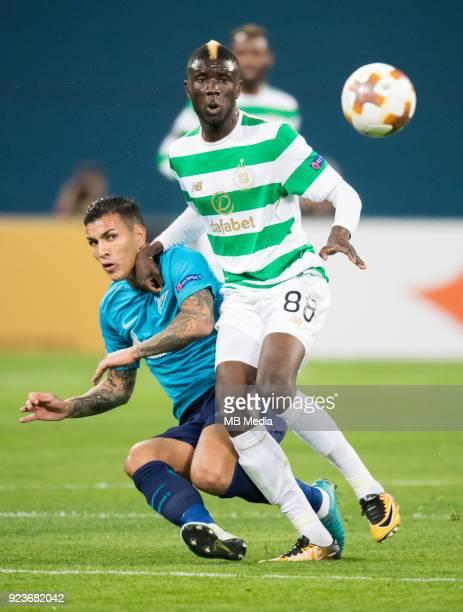 Zenit St Petersburg 3 0 Celtic FC Zenit St Petersburg's Leandro Paredes and Celtic's Eboue Kouassi