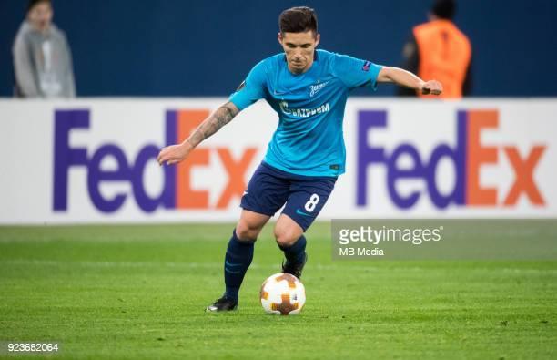 Zenit St Petersburg 3 0 Celtic FC Zenit St Petersburg's Matias Kranevitter