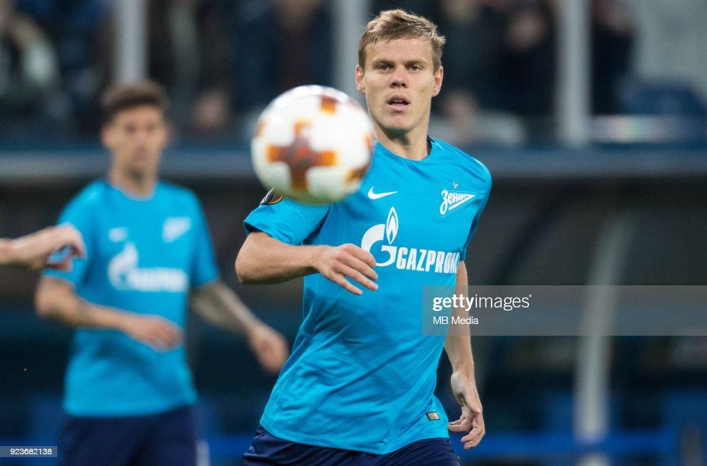 UEFA Europa League, Round of 32: Zenit St Petersburg 3 - 0 Celtic F.C. : News Photo
