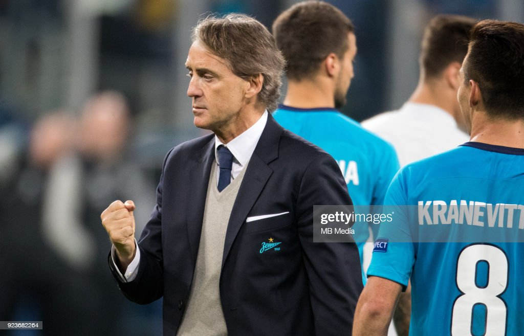 UEFA Europa League, Round of 32: Zenit St Petersburg 3 - 0 Celtic F.C. : News Photo