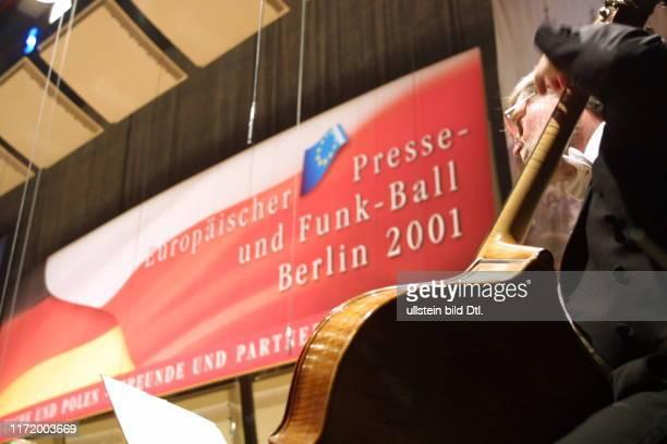 Europaeischer Presse und Funkball Presseball Berlin 2001 Saal