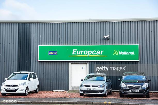 europcar alamo national vehical rental - theasis stock pictures, royalty-free photos & images