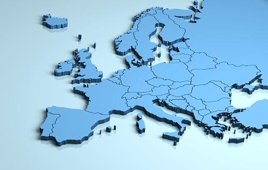 Europe 3D 540510726