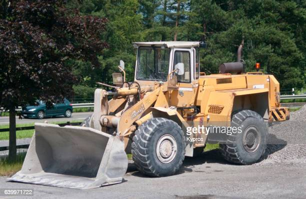 Europe, Austria, View Of Front End Loader