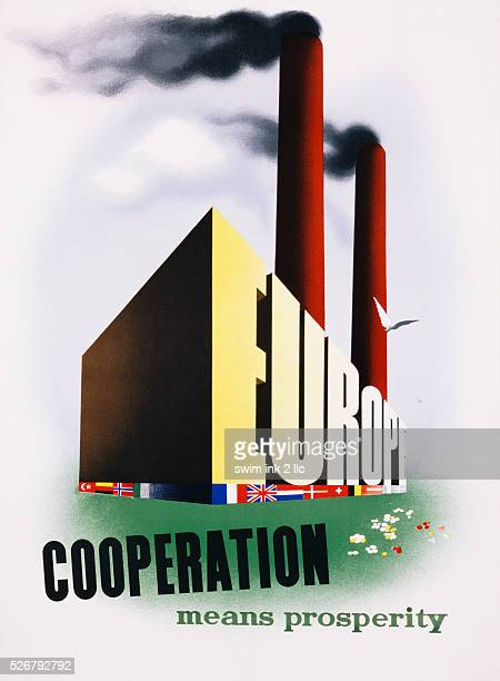 Europe Cooperation Means Prosperity Poster