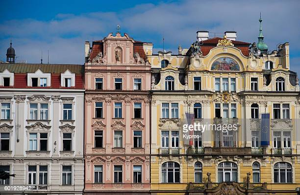 Europe, Czech Republic, Prague, View Of Buildings And Architecture