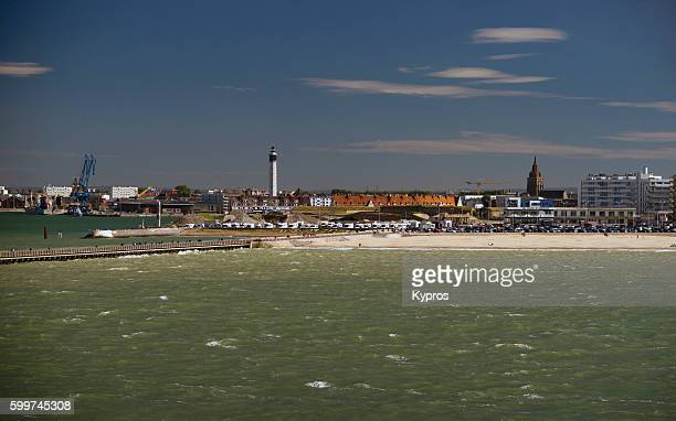 Europe, France, Calais, View Of Port