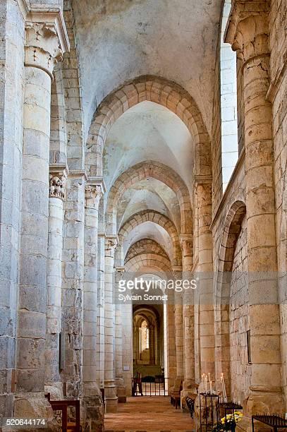 Europe, France, Loiret, Saint Benoit Sur Loire, The Abbey