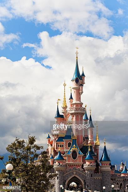 Europe France Paris Marnelavallée Disneyland Sleeping Beauty Castle