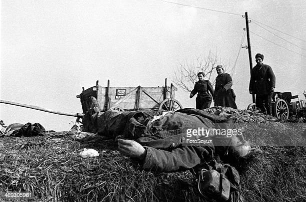 Road to Berlin German soldier killed during the battle