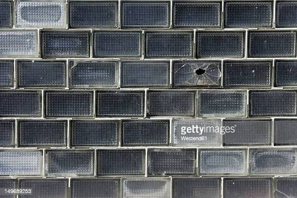 Europe, Germany, Bavaria, Glass bricks