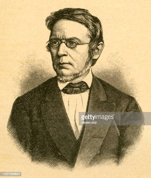 Europe Germany Berlin Johann Gustav Droysen German historian portrait illustration from Dreißig Lebensbilder deutscher M√§nner aus neuerer Zeit by...