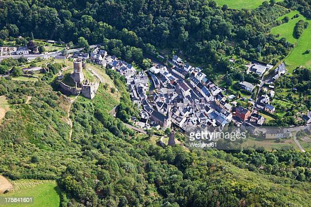 Europe, Germany, Rhineland Palatinate, View of city with castles