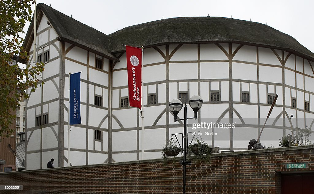 Europe, Great Britain, England, London, South Bank, Shakespeare's Globe : Stock Photo