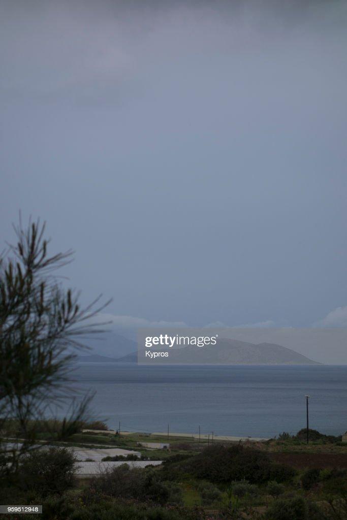 Europe, Greece, 2018: View Of Greek Islands : Stock-Foto