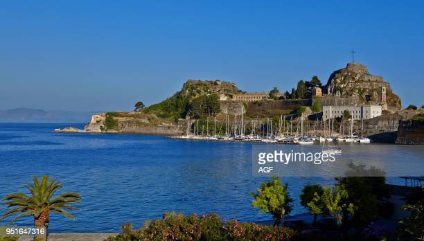 Europe Greece Old Fort Corfu Ionian Islands
