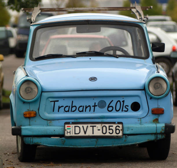 Europe, Hungary, Budapest: View Of Classic Brabant 601s Car - Fondly Known As The Worlds Most Unreliable Vehicle
