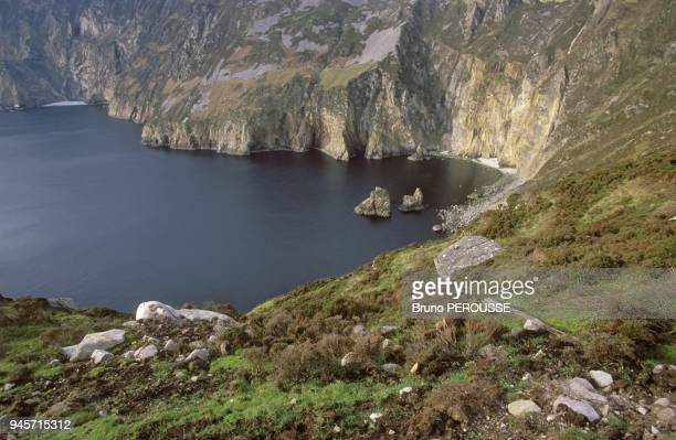 Europe Irlande comte du Donegal Slieve LeagueEurope Ireland Donegal county Slieve League