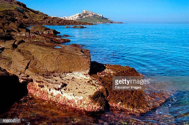 Europe Italy Sardinia Anglona Castelsardo Coast